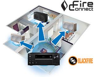 FireConnect™* для беспроводного мультирумного аудио
