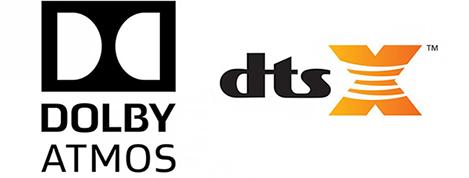 Dolby Atmos® ir DTS: X® garsai jau yra čia.