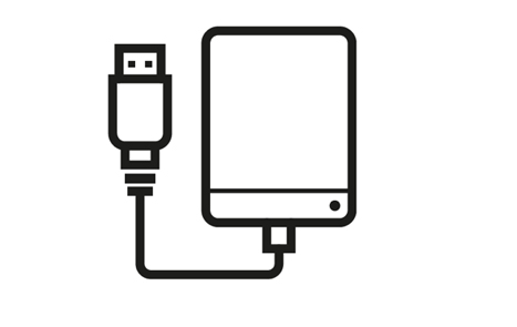 Выбор, воспроизведение и обновление музыки, хранящейся на подключенном HDD накопителе