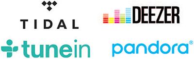 Интернет-радио и потоковые сервисы