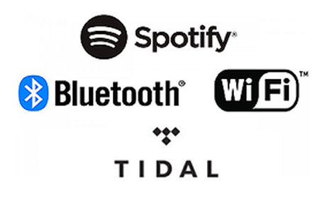 Bluetooth аудио / Wi-Fi® с Spotify и TIDAL*