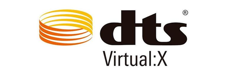 Padidinkite erdvinį garsą su DTS Virtual: X®