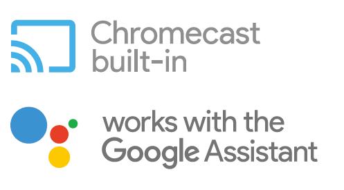 Встроенный Chromecast – теперь с Google Assistant