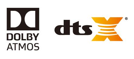 Dolby Atmos® и DTS:X™ с решениями для дополнительного микширования