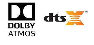 Прочувствуйте домашнее кино в форматах Dolby Atmos® и DTS:X™